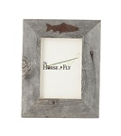4X6 5X7 & 8X10 one image rustic barnwood fish picture frames
