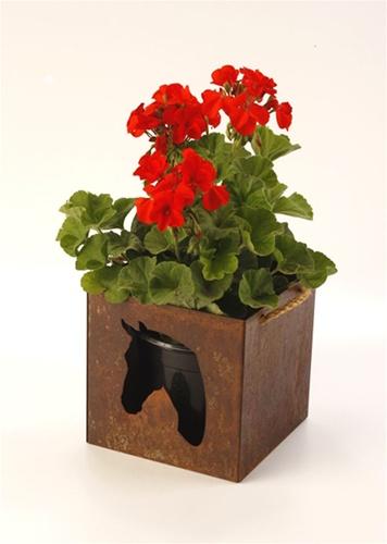 6 Metal Horse Planter The Horse Fly Home Decor