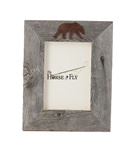 4X6 5X7 & 8X10 one image rustic barnwood bear picture frames